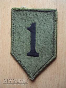 US Army: emblemat 1 dywizji