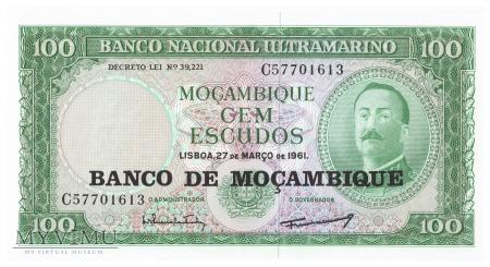 Mozambik - 100 escudos (1976)
