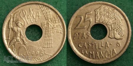 Hiszpania, 25 PESETAS 1996
