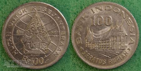 Indonezja, 100 RUPIAH 1978