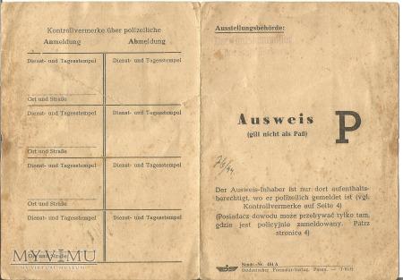 Dowód tożsamości 1944