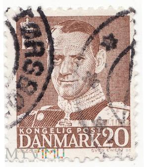 Kongelig Post - Danmark King Frederik IX - 1950