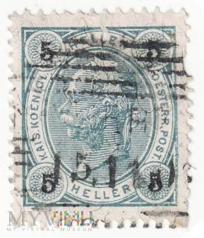 AUSTRIA 1899 5 heller