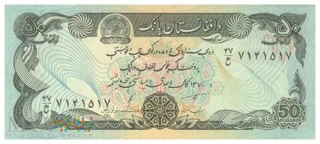 Afganistan - 50 afgani (1991)