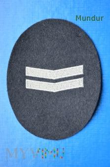 Oznaka stopnia- Oberwachtmeister WestBerlinPolizei
