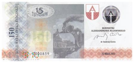 Polska (Aleksandrów Kuj.) - 15 tążyniaków (2011)