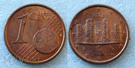 1 EURO CENT 2008