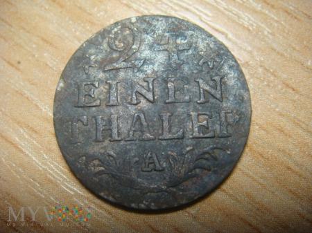 24 einen thaler, 1783, A