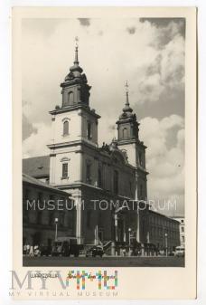 W-wa - Kościół Świętego Krzyża - lata 50-te
