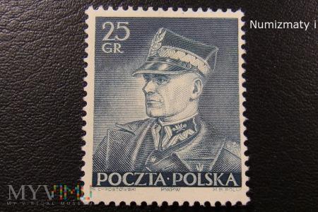 Marszałek Rydz Śmigły na znaczkach