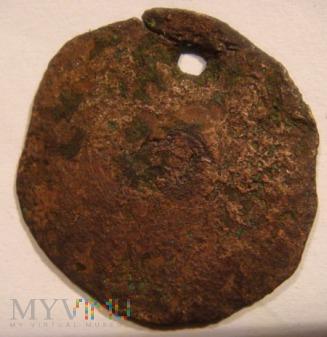 Moneta z dziurką - medalik