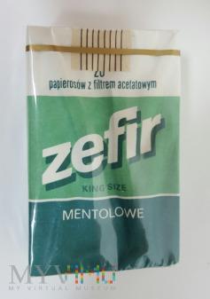 Duże zdjęcie Papierosy ZEFIR King Size Mentolowe cena 70 zł