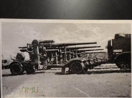 Duże zdjęcie Artyleria niemiecka II wojna
