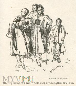 Gerson - Ubiory szlachty małopolskiej z XVII w.