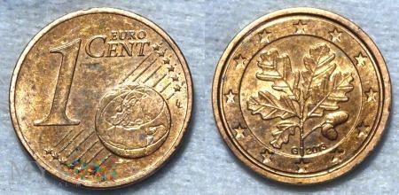 1 EURO CENT 2013 G