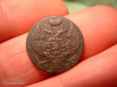 Moneta 1 grosz z 1839.