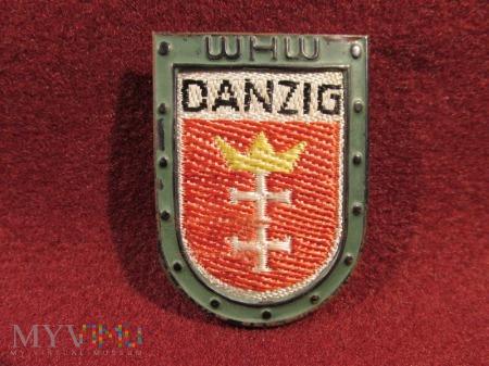 DANZIG- herby okręgów granicznych- odznaka WHW