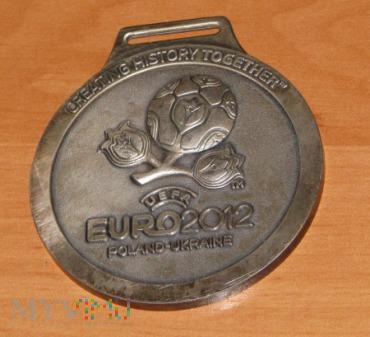 Duże zdjęcie Medal okolicznościowy EURO 2012