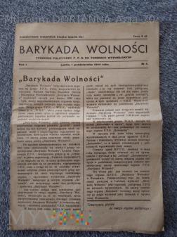 1944 r.-Barykada Wolności,nr.4