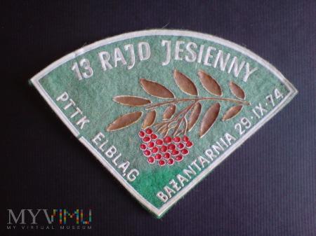 13 Rajd Jesienny PTTK.