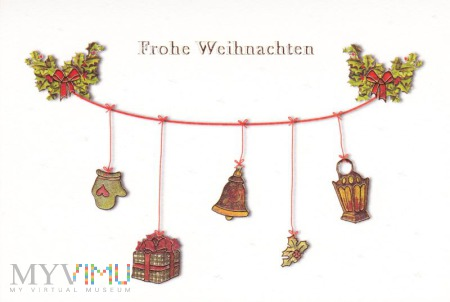 Duże zdjęcie Frohe Weihnachten