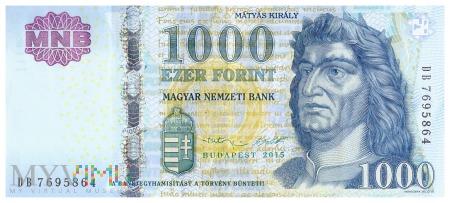 Węgry - 1000 forintów (2015)