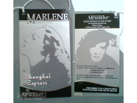 Lalka Marlene Dietrich Madame Alexander Doll 1/5