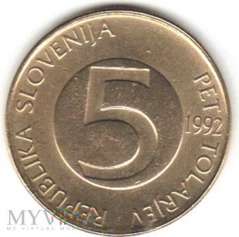 5 TOLARJEV 1992