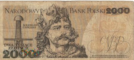 POLSKA PRL 2000 ZŁOTYCH 1979