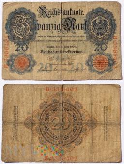 Niemcy, 20 marek 1907r.