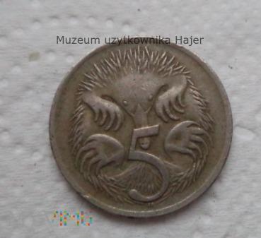 Duże zdjęcie Australia - 5 centów - 1968 rok