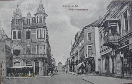 Kartka pocztowa Culm am W. Chełmno nad Wisłą 2