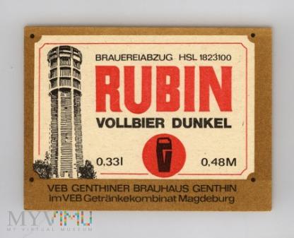 Genthin, Rubin