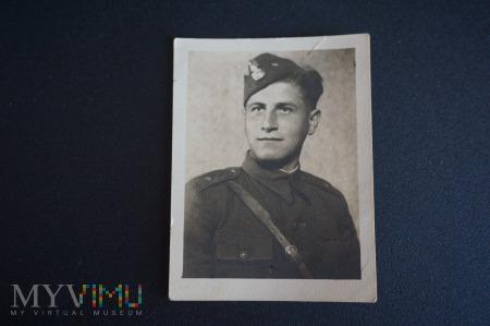 Na pamiątkę z wojska 1945 r.