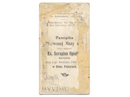 Pamiątka I Mszy Św. Piekary 1910
