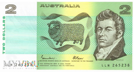 Australia - 2 dolary (1985)