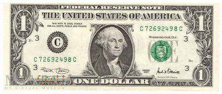 Stany Zjednoczone - 1 dolar (2001)
