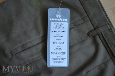 Spodnie wyjściowe letnie wzór 103A/MON