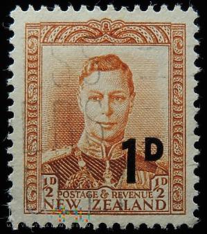 Nowa Zelandia 1/2D-1D Jerzy VI