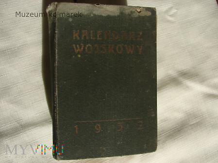 Kalendarz wojskowy na rok 1932