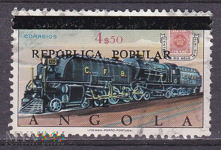 110th Anniversary Postage Stamp of Angola