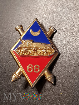 Odznaka 68 Pułku Artylerii Afrykańskiej - Francja