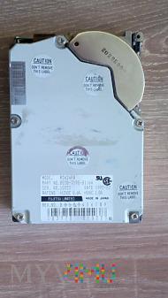 "Fujitsu Limited M2624FA 520Mb HDD 3,5"" 1992 rok"