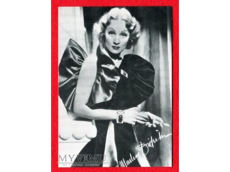 Marlene Dietrich Pocztówka DANIA papieros