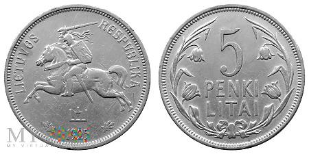 5 litai, 1925