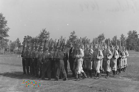 Kompania (półkompania) Luftwaffe - musztra. zdj. 2