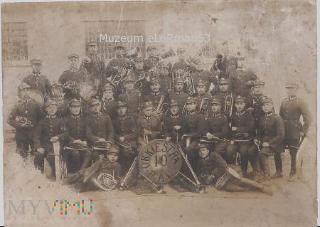 Orkiestra 10 Pułku Artylerii Ciężkiej. Przemyśl