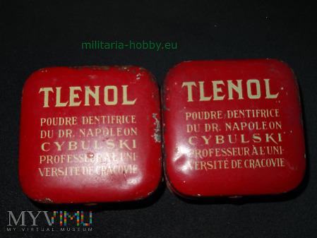 Proszki do zębów Tlenol Cybulski