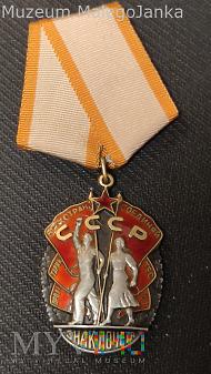 CCCP - Order Znak Honoru_typ 4 w3 - Nr: 706311