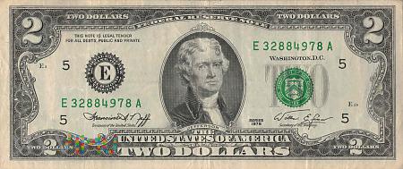 Stany Zjednoczone - 2 dolary (1976)